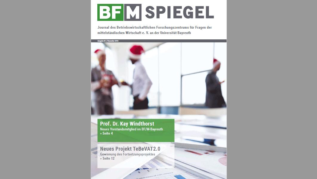 Pressestimme BF/M-Spiegel 03/2016